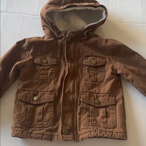 Cherokee toddler boy jacket size 2T Brown